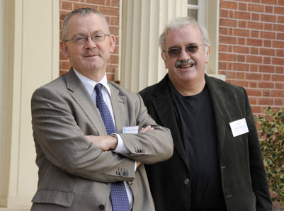 Professor Nick Wareham and Professor Sir Steve O'rahilly - Co-Directors of the Institute of Metabolic Science